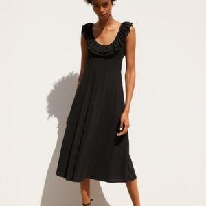 Black Zara Textured Weave Summer Dress
